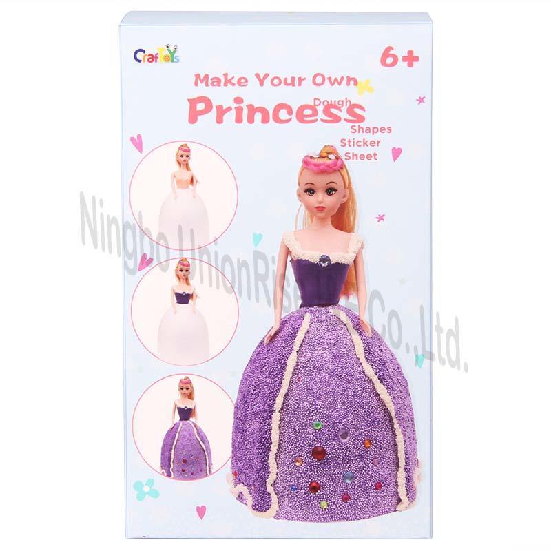 Make Your Own Dough Princess Purple Dress