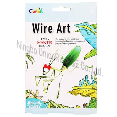 Make Your Own Wire Art Mantis