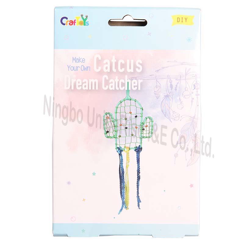 Make Your Own Catcus Dream Catcher
