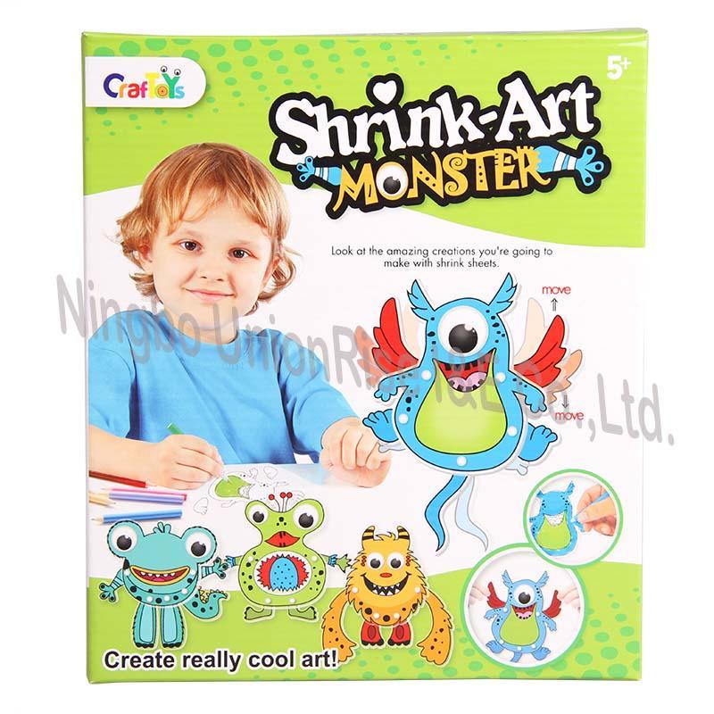 Shrink Art Monster