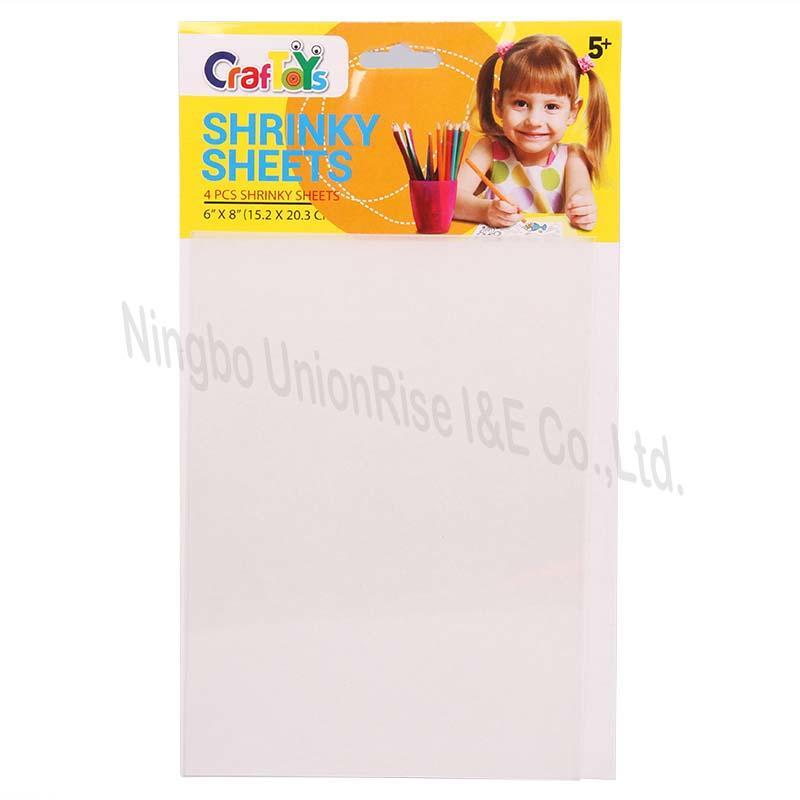 Clear Shrink Sheet