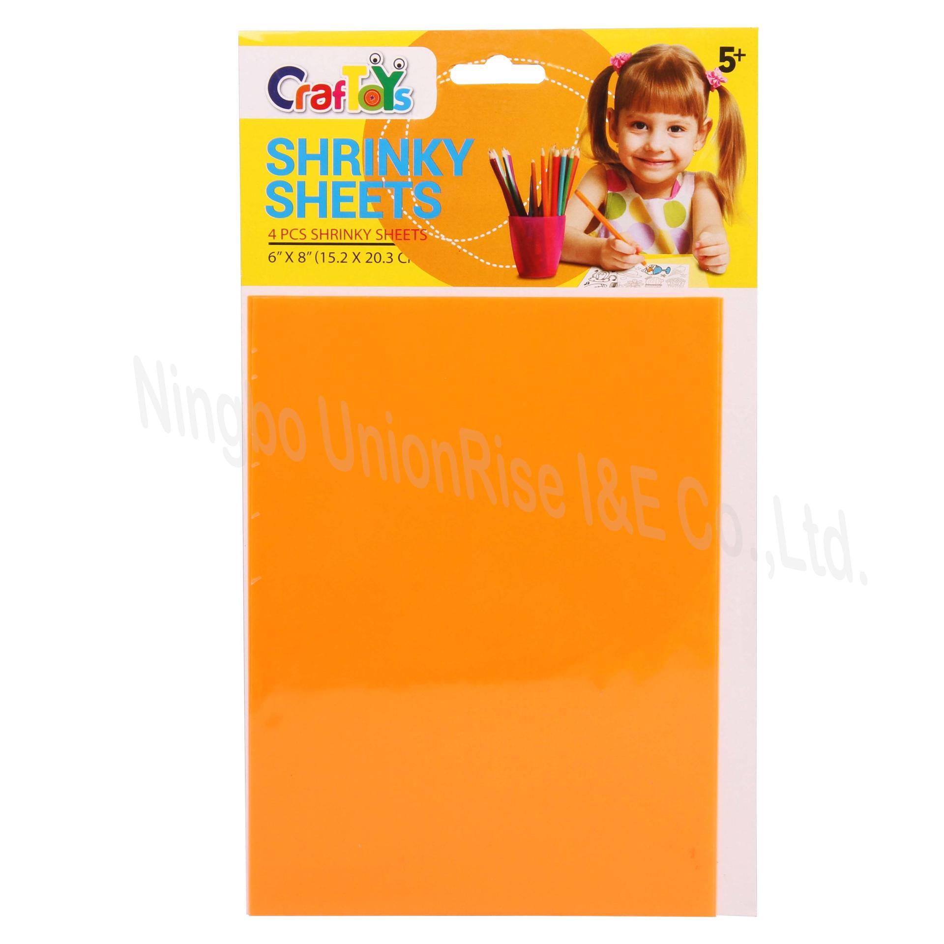 Neon Shrink Sheet