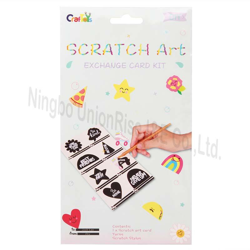 Scratch Art Exchange Card Kit