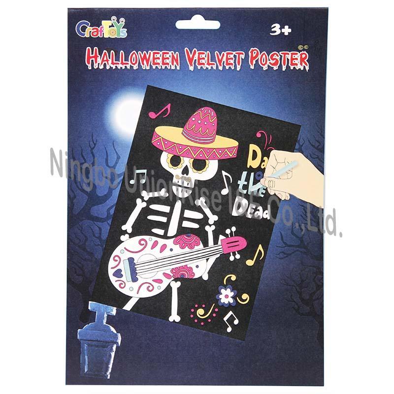Halloween Velvet Poster Groom