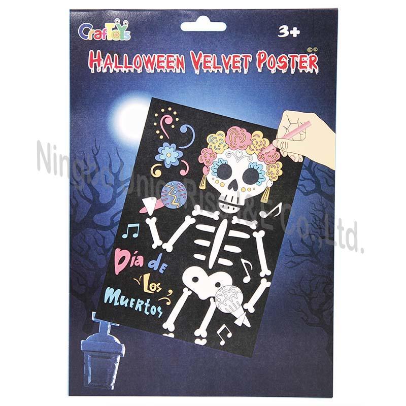 Halloween Velvet Poster  Bride