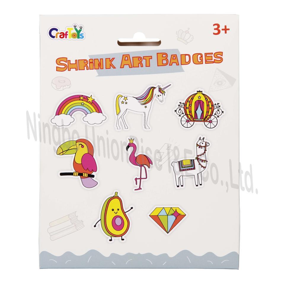 Shrink Art Badges