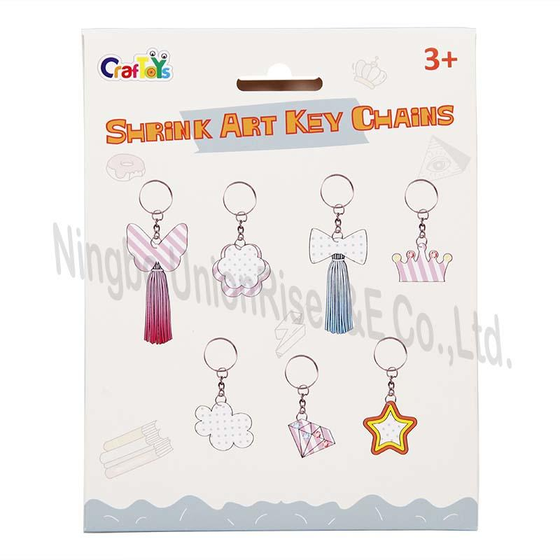 Shrink Art Key Chains