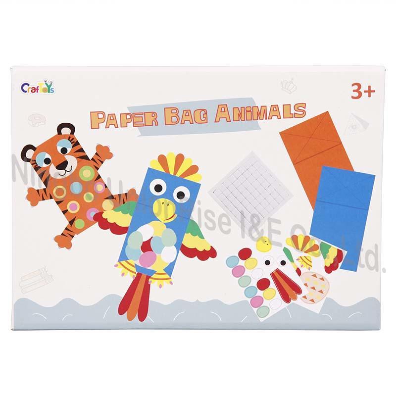 Unionrise paper art kit factory for kids