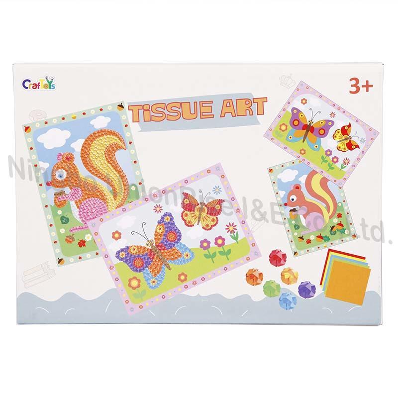 Wholesale paper art kit manufacturers for children