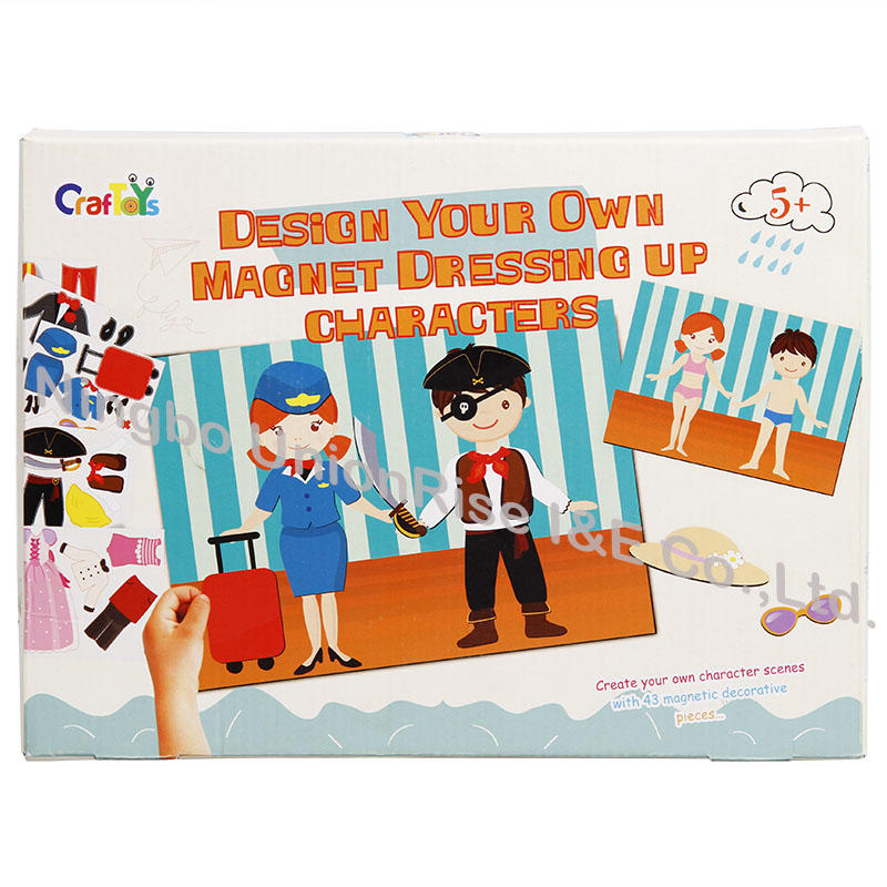 Design Your Own Magnet Dressing Up Characters