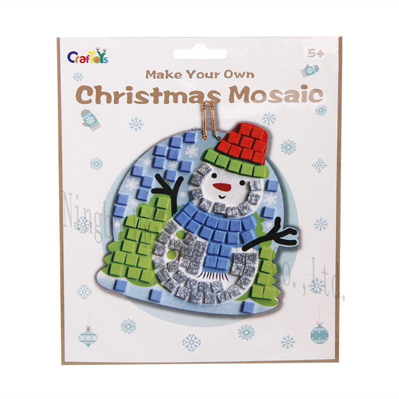 Make Your Own Christmas Mosaic