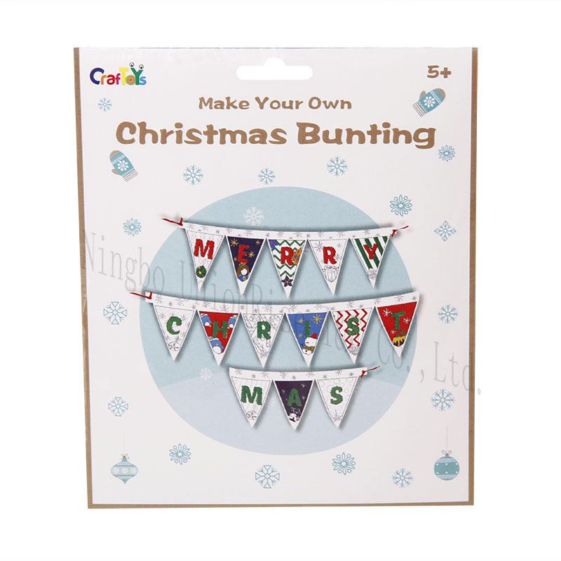 Make Your Own Christmas Bunting