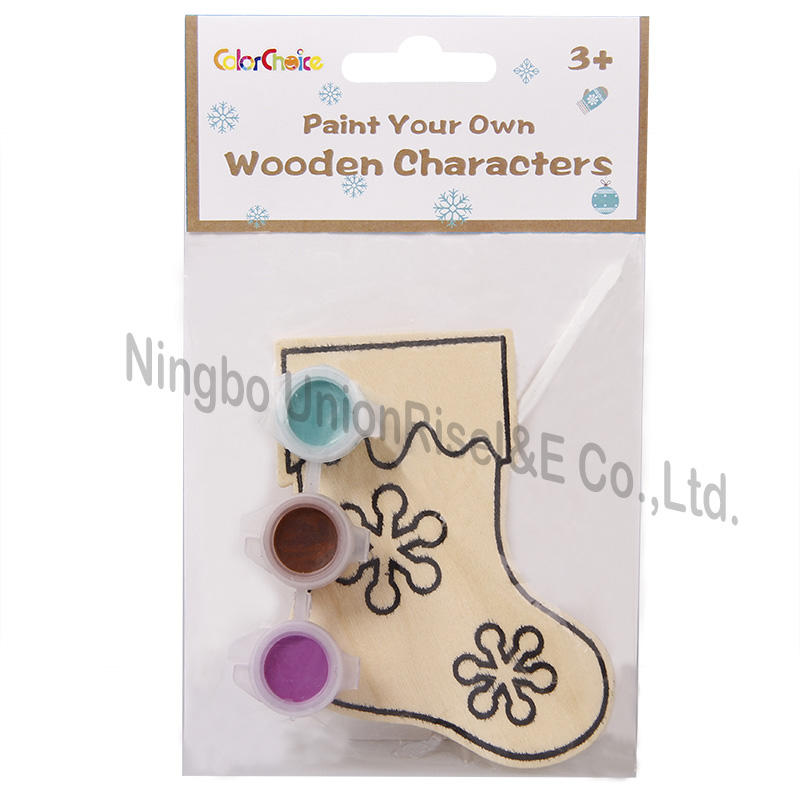 Paint Your Own Wooden Characters