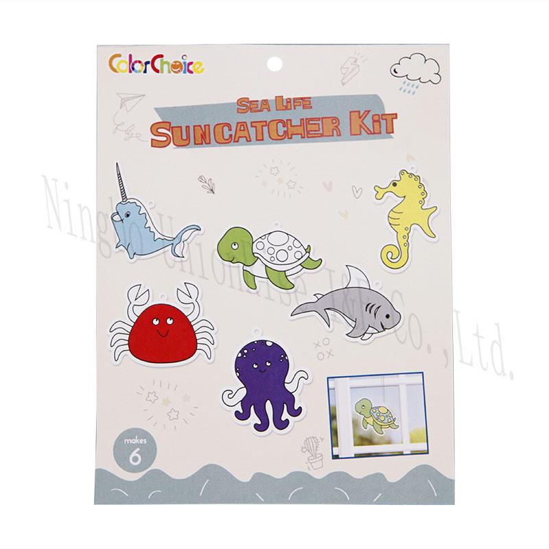 Sea Life Suncatcher Kit