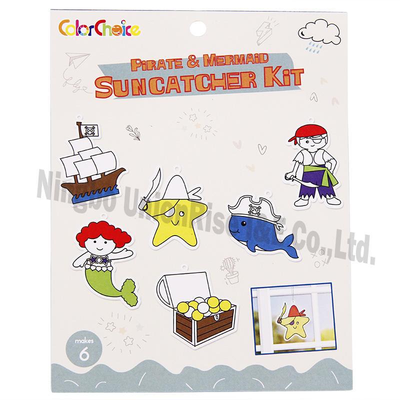Pirate & Mermaid Suncatcher Kit