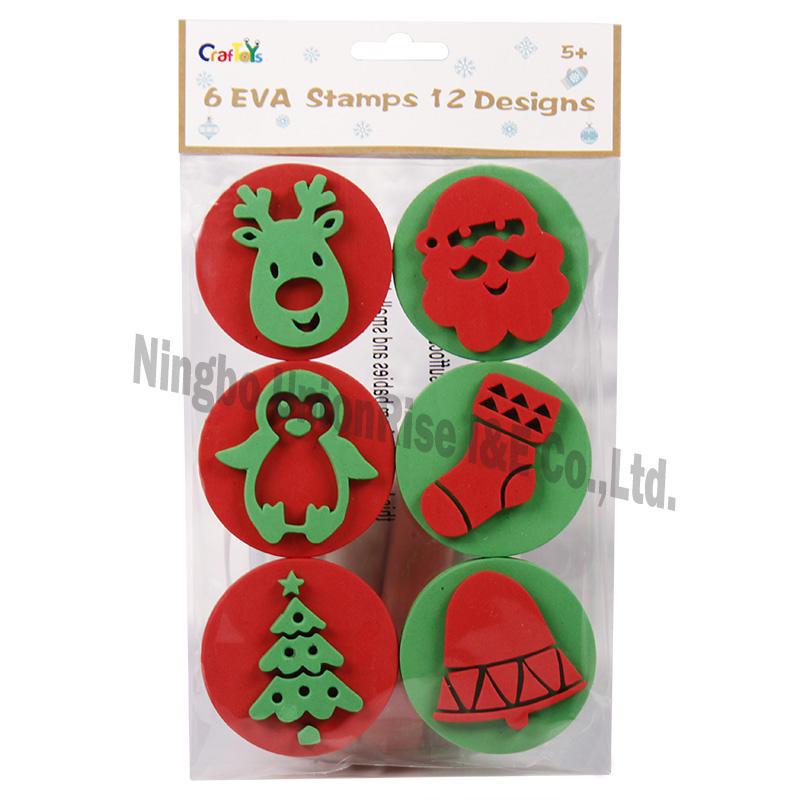 6 EVA Stamps 12 Designs