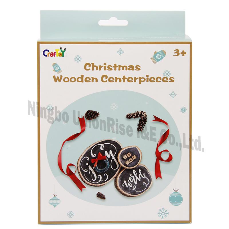 Chirstmas Wooden Centerpieces