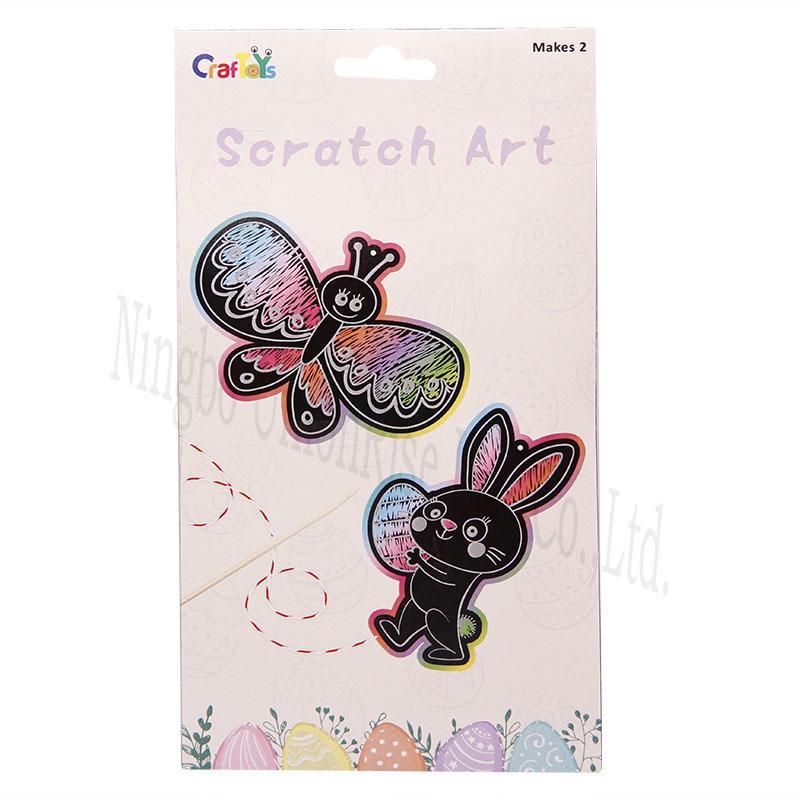Unionrise scratch scratch art craft manufacturers for kids