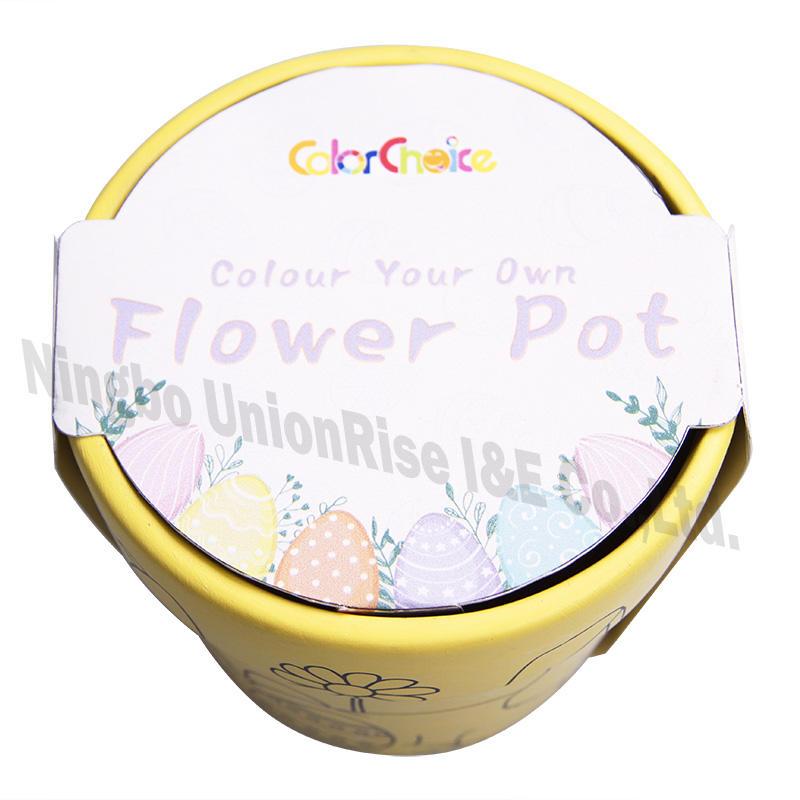 Color Your Own Flower Pot