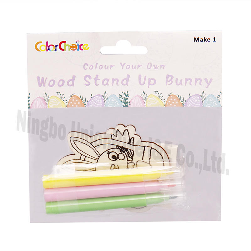 Color Your Own Wood Stand Up Bunny