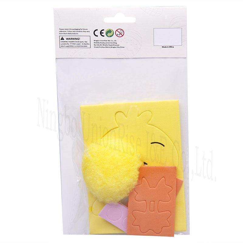 Make Your Own Foam Pom Pom Chick
