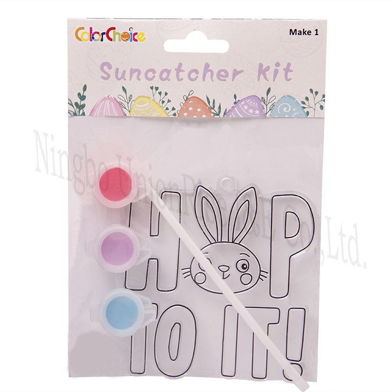 Suncatcher Kit Rabbit+Letter