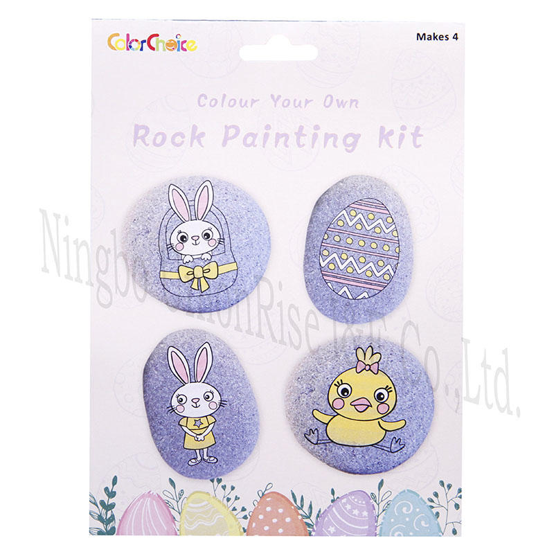 Colour Your Own Rock Painting Kit