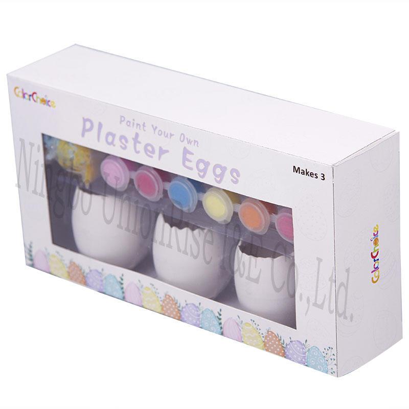 Plaster Eggs