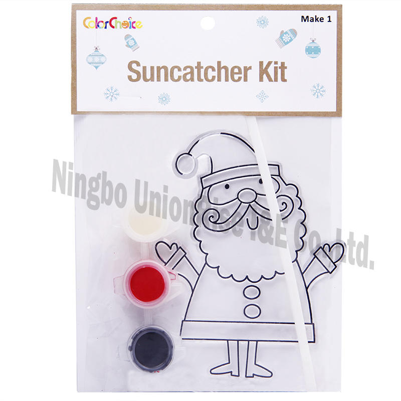 Suncatcher Kit Santa Claus