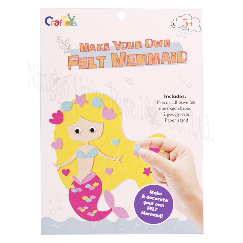Make Your Down Felt Mermaid