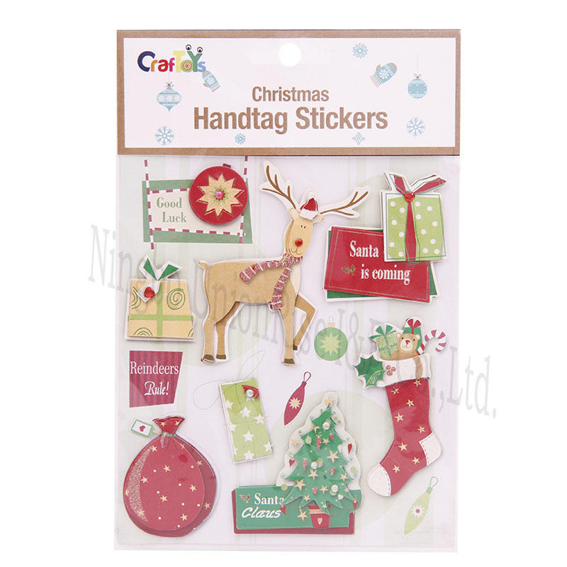 Christmas Handtag Stickers