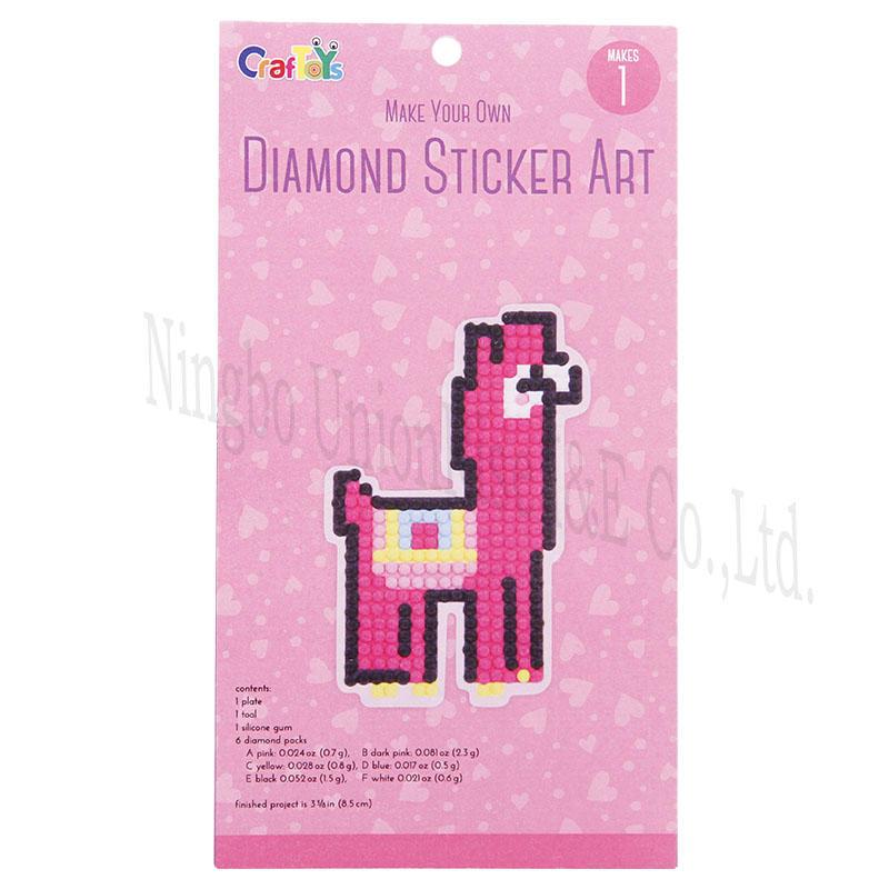 Make Your Own Diamond Sticker Art