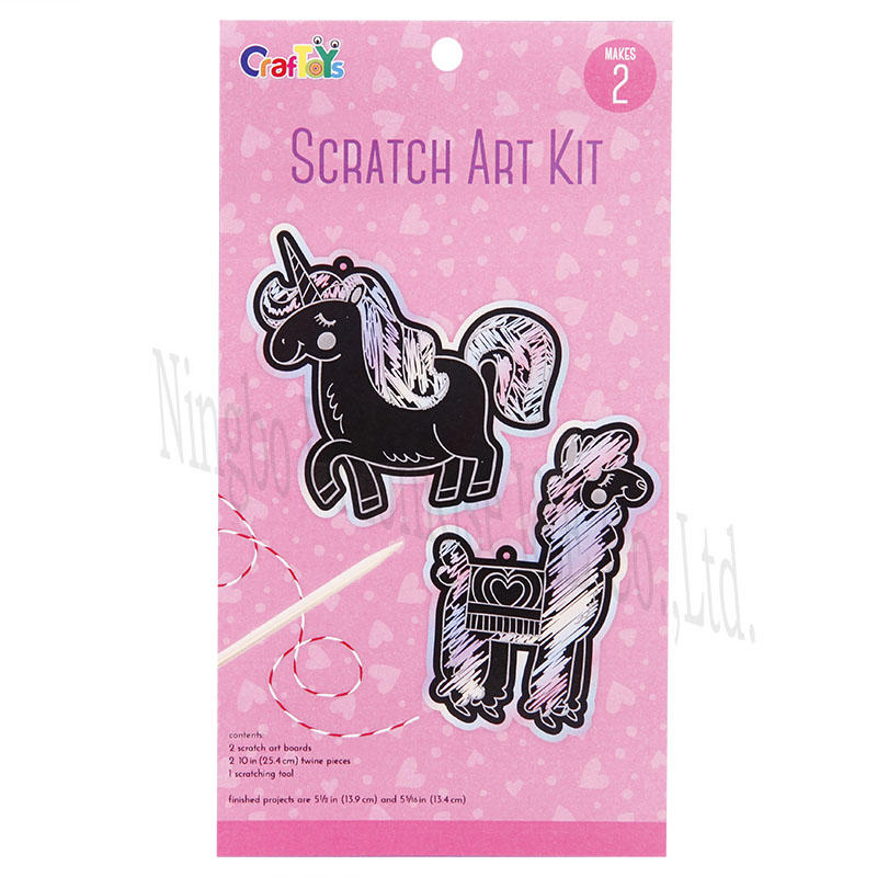 Unionrise art scratch art kits Supply for kids