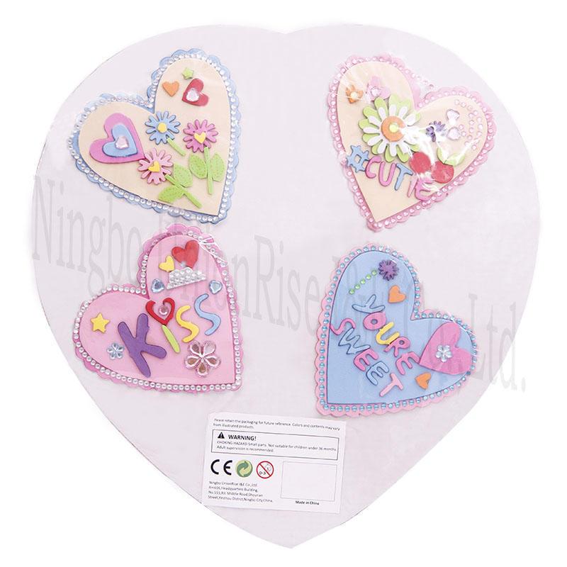Foam  Heart Craft Platter