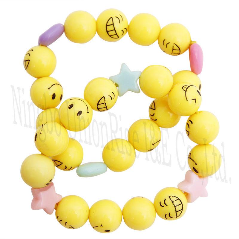 Make Your Own Emoji Bracelet Set