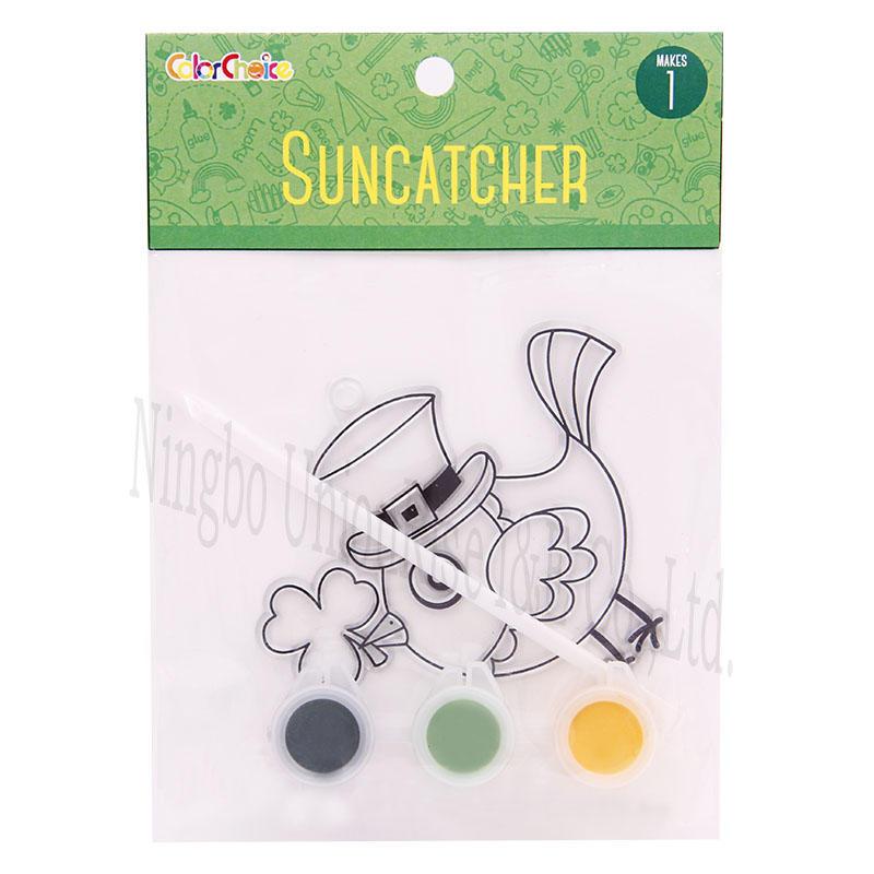 Custom suncatchers painting kit peace for business for kids
