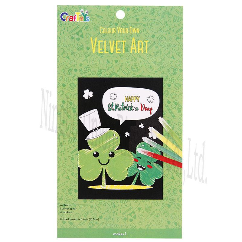 Colour Your Own Velvet Art