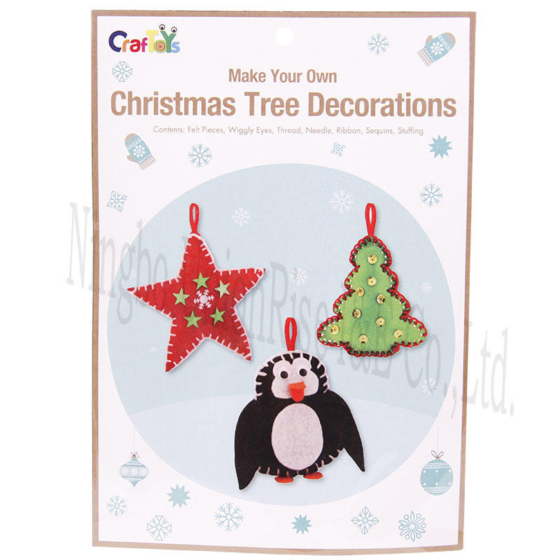 Make Your Own Christmas Tree Decorations