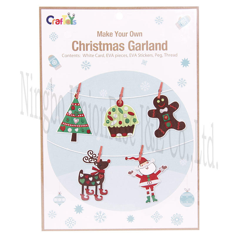 Make Your Own Christmas Gardland