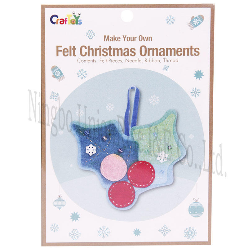 Make Your Own Felt Christmas Omaments