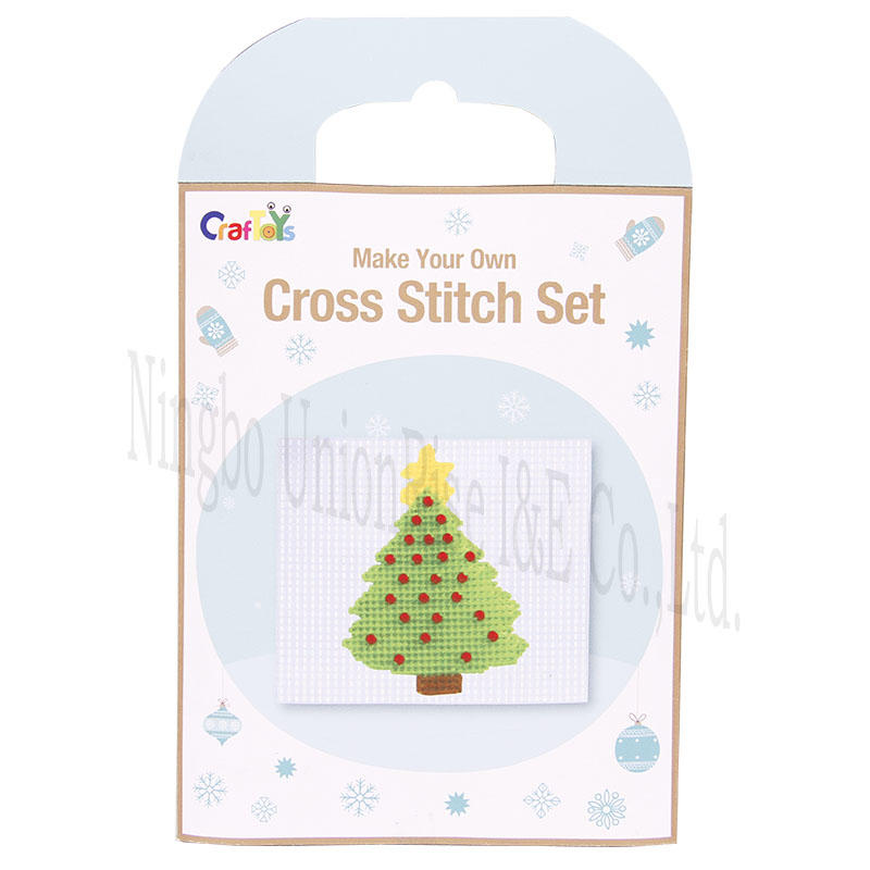 High-quality knitting craft kits knitsantaclaus for business for children