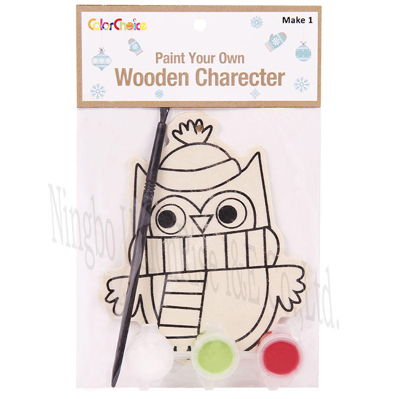 Paint Your Own Wooden Charecter