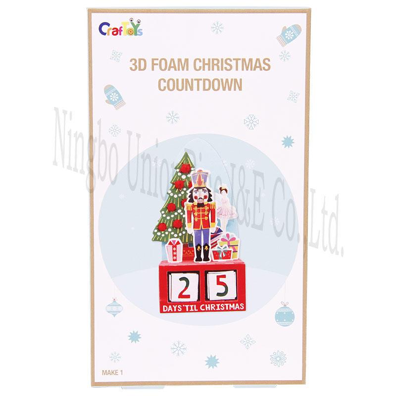 3D Foam Christmas Countdown