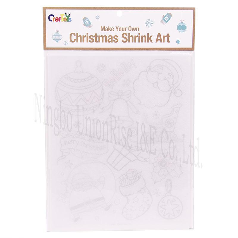 Make Your Own Christmas Shrink Art