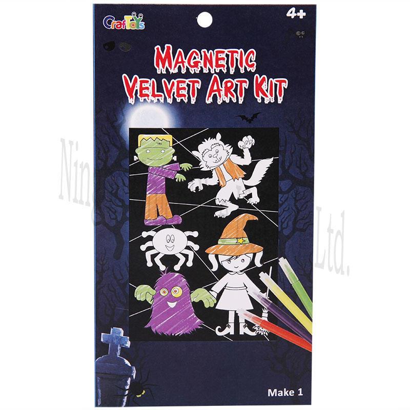 Magnetic Velvet Art Kit