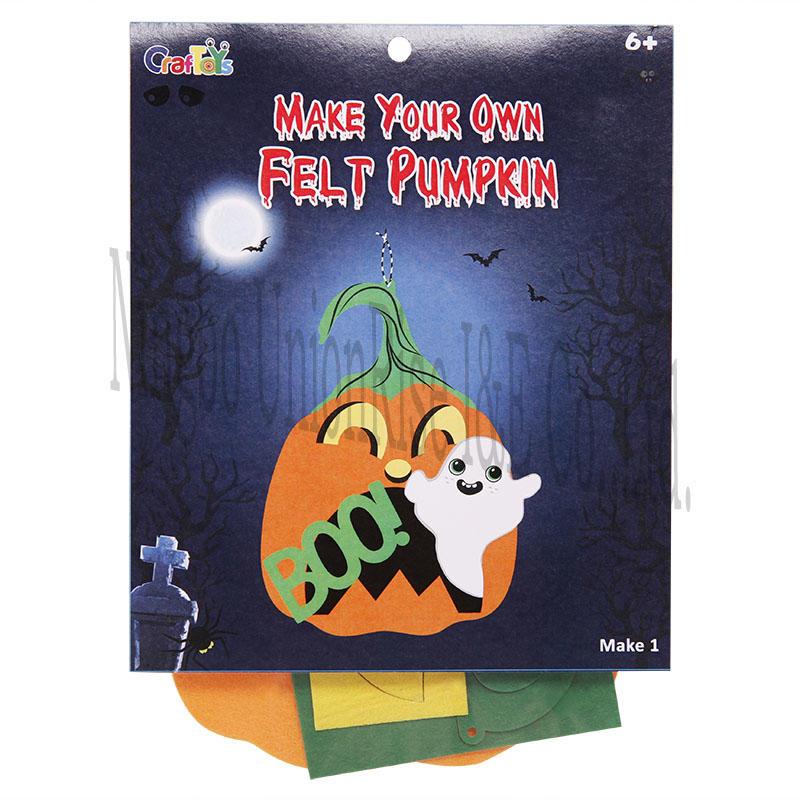 Make your own Felt Pumpkin