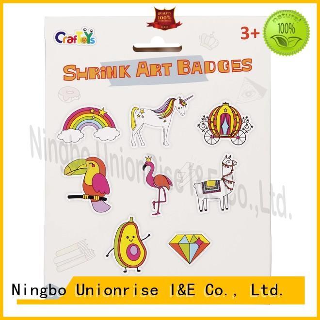 Unionrise badges shrink art kit