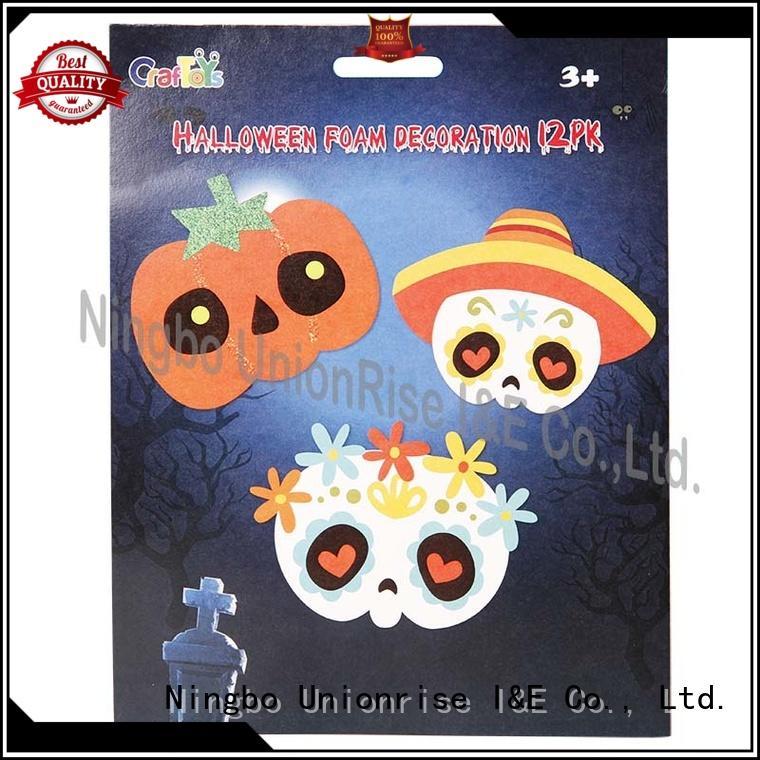 Unionrise universal halloween eva craft sets low-cost for play