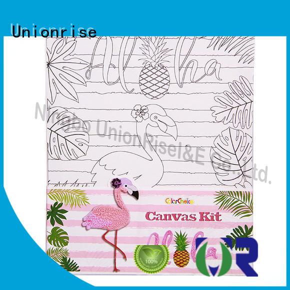 Unionrise own kids canvas painting set