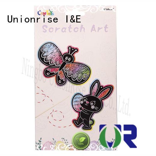 Unionrise scratch art kits